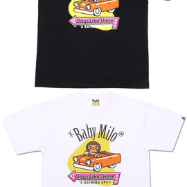 A BATHING APE - MILO AMERICAN CAR TEE