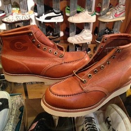 "Chippewa - 「<deadstock>60-70's Chippewa 6""MOC BOOT brown""made in USA"" size:US8 D(26cm) 29800yen」販売中"