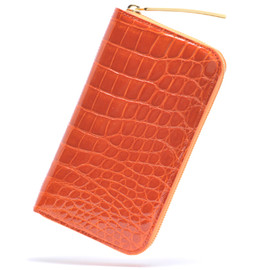 KENJIIKEDA - CROCODILE ZIP WALLET