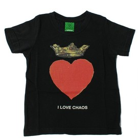 UNDERCOVER - I LOVE CHAOS Tシャツ