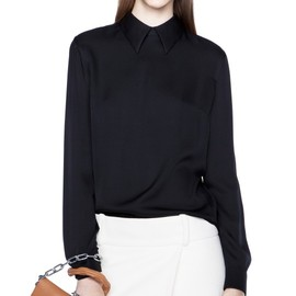 Acne - Sloan Silk Zip Black