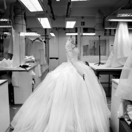Christian Dior - Inside the atelier for Christian Dior haute couture s/s 2012