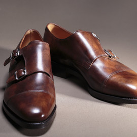 JOHN LOBB - WILLIAM, Parisian Brown Museum Calf