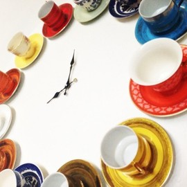 DIY - tea cup clock