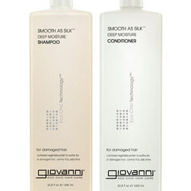 giovanni - SMOOTH AS SILK Deep Moisture Shampoo & Conditioner 1,000ml