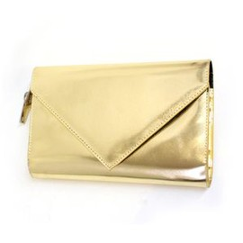 MARC BY MARC JACOBS - gold clutch