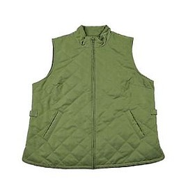 Orvis - Orvis Green Quilted Vest Menswear Rustic Outdoor Clothing Menswear Size Large
