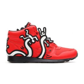 Reebok - KEITH HARING × REEBOK CL LTHR MID LUX KH TECHY RED/WHITE/BLACK