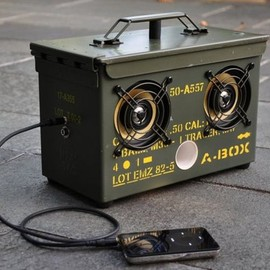 Make a DIY Surplus AmmoCan SpeakerBox