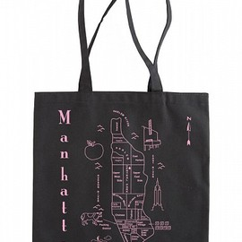 MAPTOTE - Manhattan Black Everyday Tote