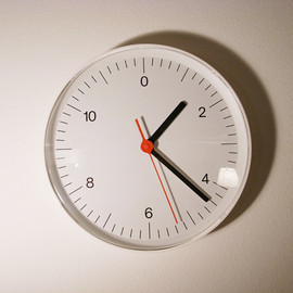 MUJI - Wall Clock  Design by  jasper morrison