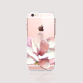 bycsera - Floral iPhone 6s Case Clear Floral iPhone 6s Plus Case Floral iPhone 6 Case Pink iPhone 6S