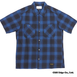 NEIGHBORHOOD - B&C/C-SHIRT.SS(半袖シャツ)BLUE215-01190-034+【新品】【smtb-TD】【yokohama】