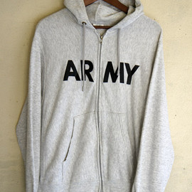 U.S. ARMY - Full-Zip Sweat Parka