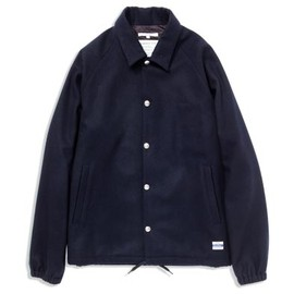 BiceSter - WOOL COACH JACKET[NAVY]