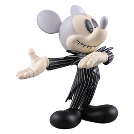MEDICOM TOY - VCD MICKEY MOUSE (JACK SKELLINGTON ver.)