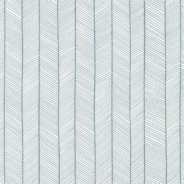 hermes/ dedar - herringbone wallpaper