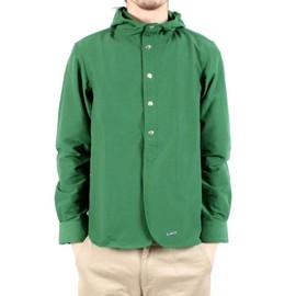 YAECA - 60/40 Cloth Shirt Parca(Green)