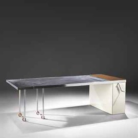 Charlotte Perriand  - TABLE EXTENSIBLE 'DE LUXE', 1930