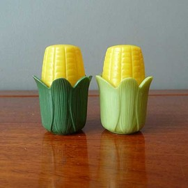 Royal Product Plastic Corn Salt & Pepper Shakers