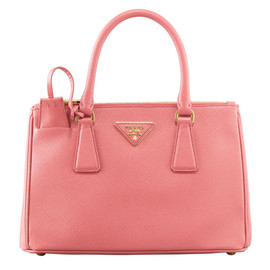 PRADA - Mini Saffiano Lux Tote Bag