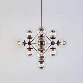 Jason Miller, Roll & Hill - Modo Chandelier - Diamond