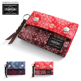 ESSENTIAL DESIGNS, PORTER - PAISLEY 3-FOLD WALLET