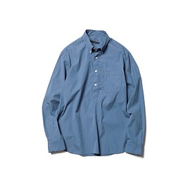SOPHNET. - WASHED BIG PULLOVER B.D SHIRT