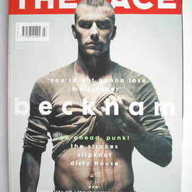 The Face - The Face magazine - David Beckham cover (July 2001 - Volume 3 No. 54)