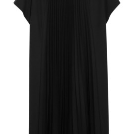 Bouchra Jarrar - FW2014 Pleated crepe dress