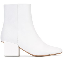Jacquemus - geometric heel ankle boots