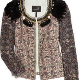 Isabel Marant - July embellished cotton jacket