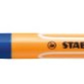 Stabilo - Stabilo Point Visco Rollerball Pen with Quick-drying Gel Ink 0.5mm Line Blue Ref 1099/41 [Pack of 10]