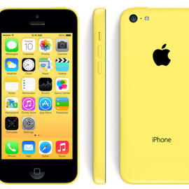 Apple - iPhone 5c 16 GB (Yellow)