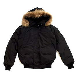 ABSOLUTE - BOMBER DOWN JACKET -BLACK-