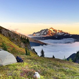 North Cascades, WA - Yellow Aster Butte in the Mount Baker Wilderness