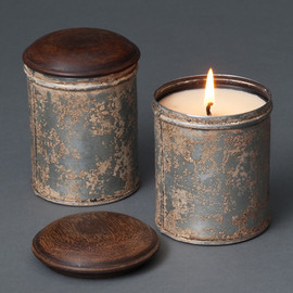 HYMALAYAN candles - Spice Tin Soy Pot