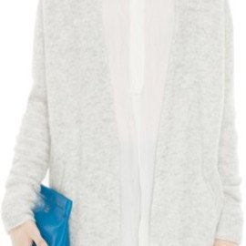 Acne - Acne Raya L Mohair Dove White in White - Lyst