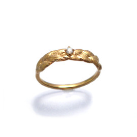 bohem - Silver Diamond Ring