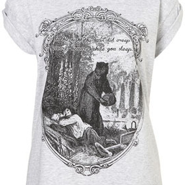 TOPSHOP - Creeping Bear Tee By Project Social T