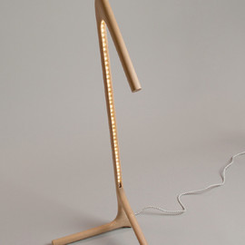 Phillip Euell Furniture - LISEUSE - LED table lamp