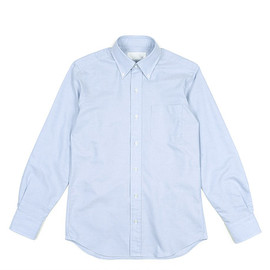 The FRANKLIN TAILORED - Color Ox BD Shirt-Blue