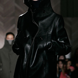 Maison Martin Margiela - leather coat