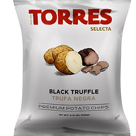 Torres - Selecta Potato Chips Black Truffle