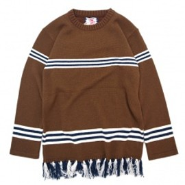 SON OF THE CHEESE - RUG SWETER BROWN