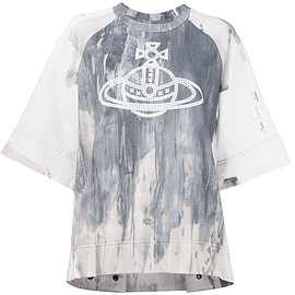 Vivienne Westwood Anglomania - ロゴプリント Tシャツ