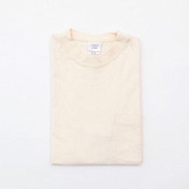 camber - pocket crew tee finest 6oz natural