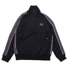 Needles - Track Jacket Poly Smooth Black