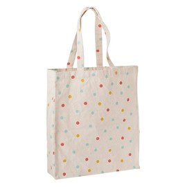 kikki.k - Canvas Tote Bag Polka Dots