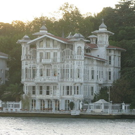 Turkey - Afif Pasha Mansion at waterside Istanbuhl